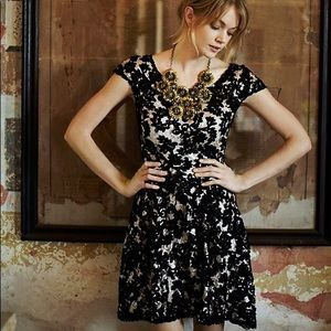 Anthro Yoana Baraschi Jardim Lace Dress